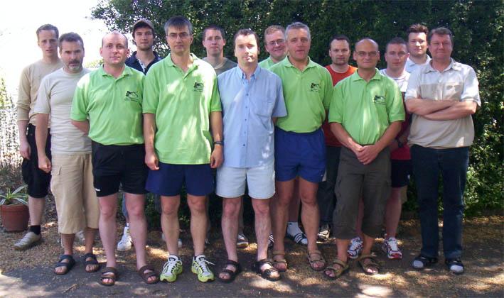 Sachsens SR beim Lehrgang des Süddeutschen Handball - Verbandes